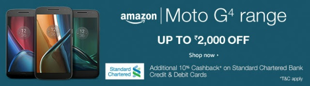 Moto Devices Amazon India Sale, Flat ₹2000 Discount and 10% Cashback