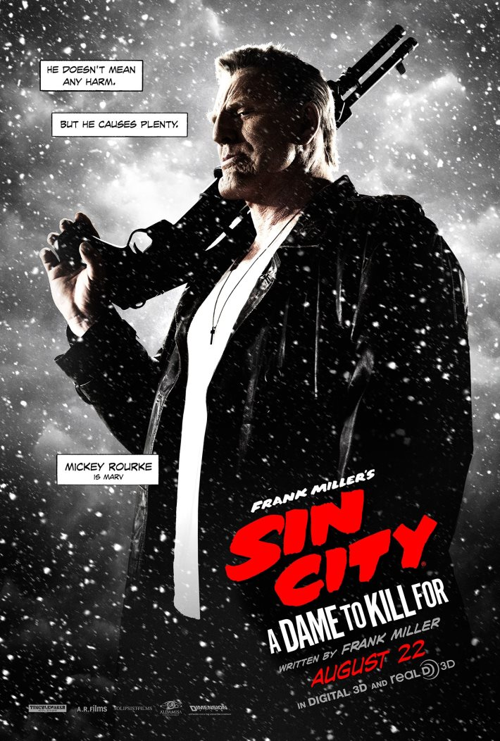 Poster 2: Sin City A Dame to Kill For 2014