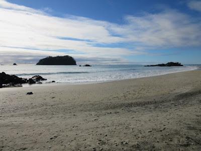 Playa de Mount Maunganui, Nueva Zelanda