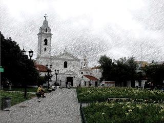 Basilica Nuestra Señora de Pilar, na Recoleta, em Buenos Aires