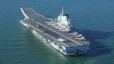 Kapal Induk Dan Kapal Perusak Rudal China Siap Lakukan Pelayaran Uji Coba