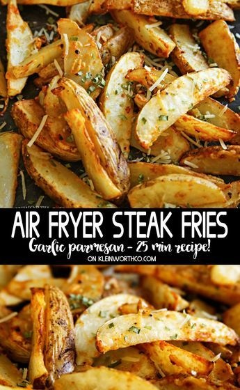 Air Fryer Steak Fries