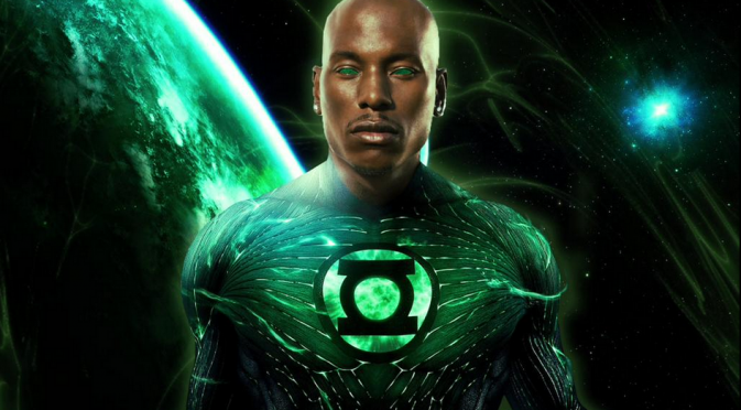 Tyrese Gibson ainda tem esperança de interpretar o Lanterna Verde nas telonas