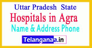 Hospitals in Agra Uttar Pradesh