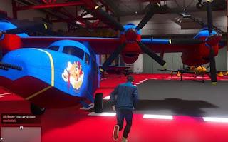 GTA 5, Smuggler's Run, Aircraft Hanger