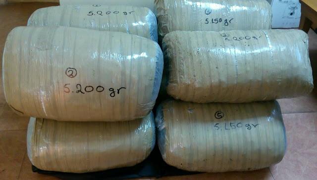 Γιάννενα: Μπλόκο σε φορτίο με 41 κιλά χασίς στην Περιφερειακή Οδό