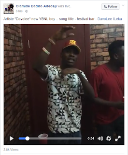 Olamide signs new artiste Davloee