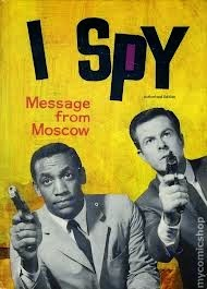 I SPY MESSAGE FROM MOSCOW BY BRANDON KEITH