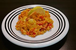 Risotto z ryżem basmati i krewetkami