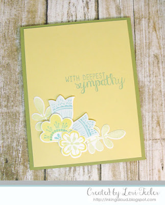 With Deepest Sympathy card-designed by Lori Tecler/Inking Aloud-stamps and dies from Reverse Confetti