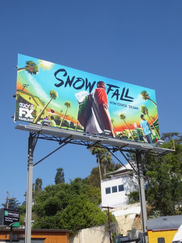 Snowfall FX series billboard