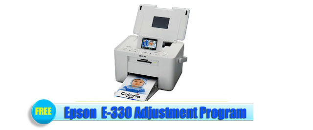 Epson E-330 Adjustment Program