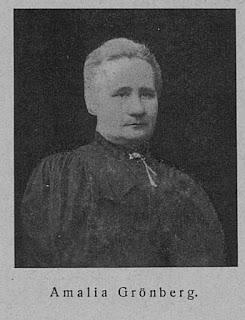 Amalia Grönberg vanhempana