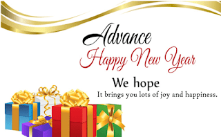 advance happy new year message