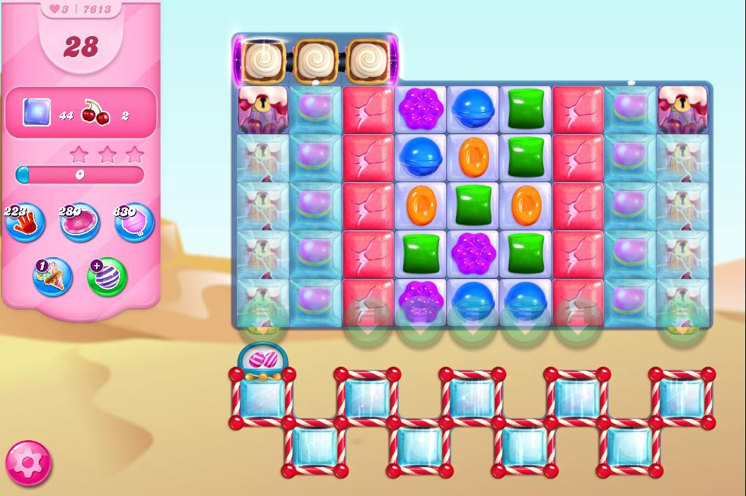 Candy Crush Saga level 7613