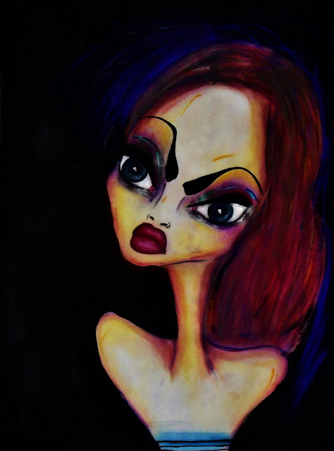 Bebee Pino painting