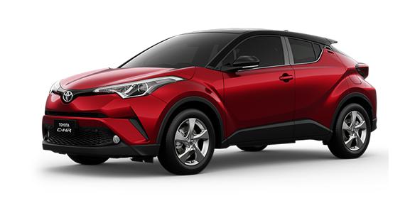 Toyota CHR terbaru 2018