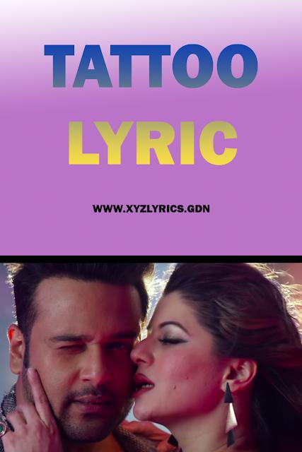 TATTOO LYRIC | Teri Bhabhi Hai Pagle | Krushna Abhishek | Sunidhi Chauhan | Video