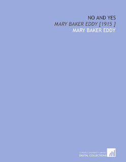 No and Yes : Mary Baker Eddy Download Free Religion Book
