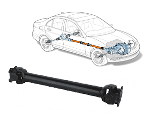 salah satu komponen penting yang hanya ada pada kendaraan roda empat dengan transmisi man Fungsi Batang Propeller Pada Mobil Manual