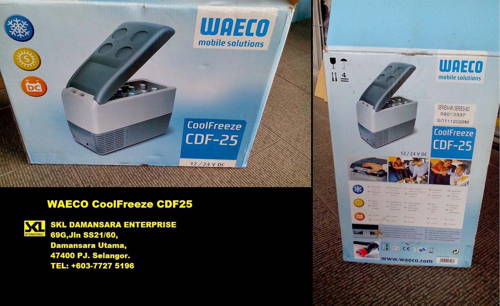 SKL DIY Uptown: WAECO CoolFreeze CDF25 @ RM 2800 only!!