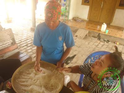 FOTO 7 :    beras padi TRISAKTI  .. Tidak patah.