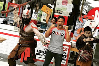 4FINGERS Collaborates with God of War in a Month-long Epic Journey