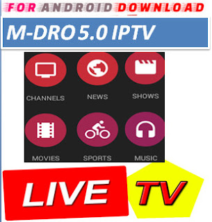 Download Android Free MdroTV Television Apk -Watch Free Live Cable Tv Channel-Android Update LiveTV Apk  Android APK Premium Cable Tv,Sports Channel,Movies Channel On Android