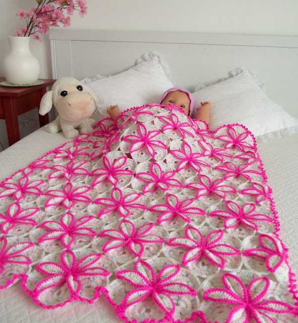 Princessa Baby Crochet Blanket