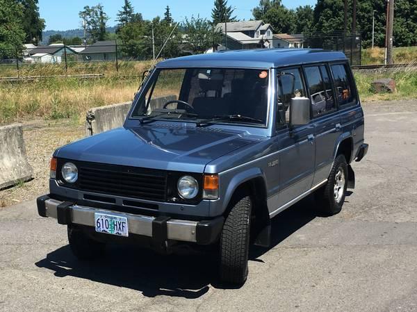 1986 Mitsubishi Pajero Turbo Diesel