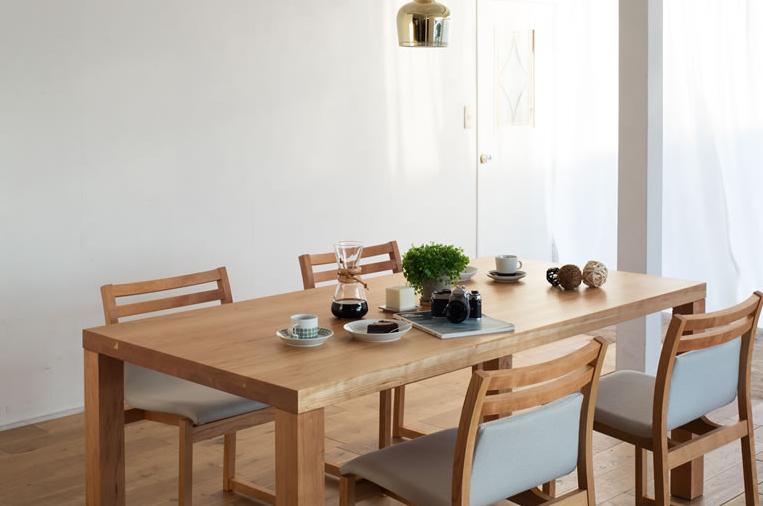 Kursi meja makan kayu jati minimalis - Model meja makan kayu jati minimalis