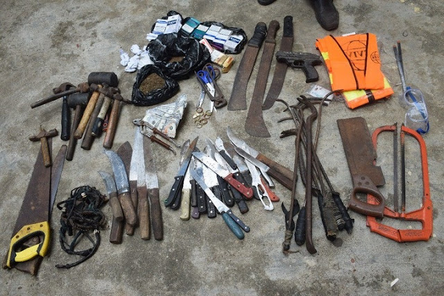 See The Illegal Guns Recovered By Lagos Police In Less Than Three Weeks
