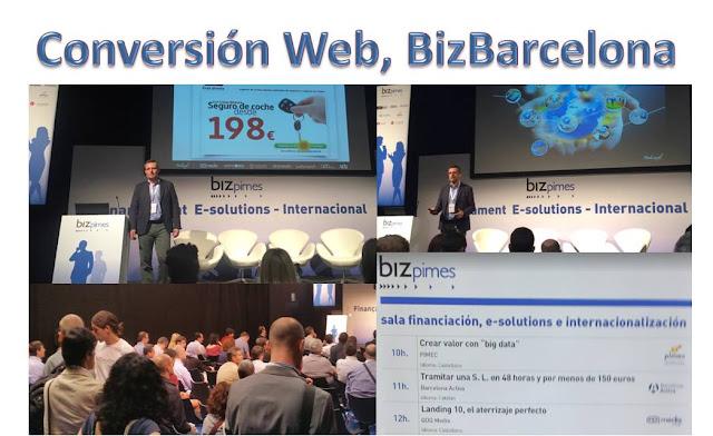 Conversion Web en BizBarcelona
