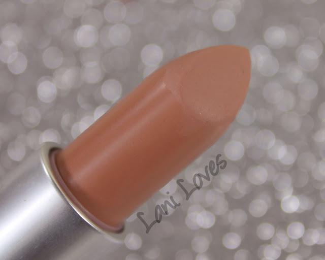 MAC Ruffian Naked Lipstick Swatches & Review