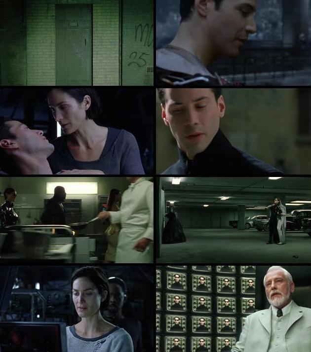 The Matrix Reloaded (2003) Dual Audio BluRay 480p 400MB
