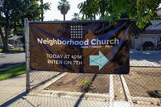 Here's where you'll find Neighborhood Church in Fresno: at Jackson Elementary