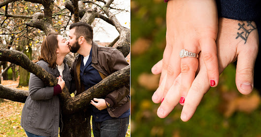 Fall in Love with this sweet engagement session in Newburyport MA