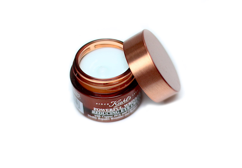 kiehl's crème contour des yeux powerful wrinkle reduction eye cream test avis
