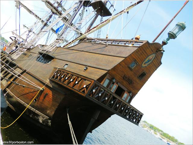 El Galeón Andalucía en su Visita del 2016 a Newburyport