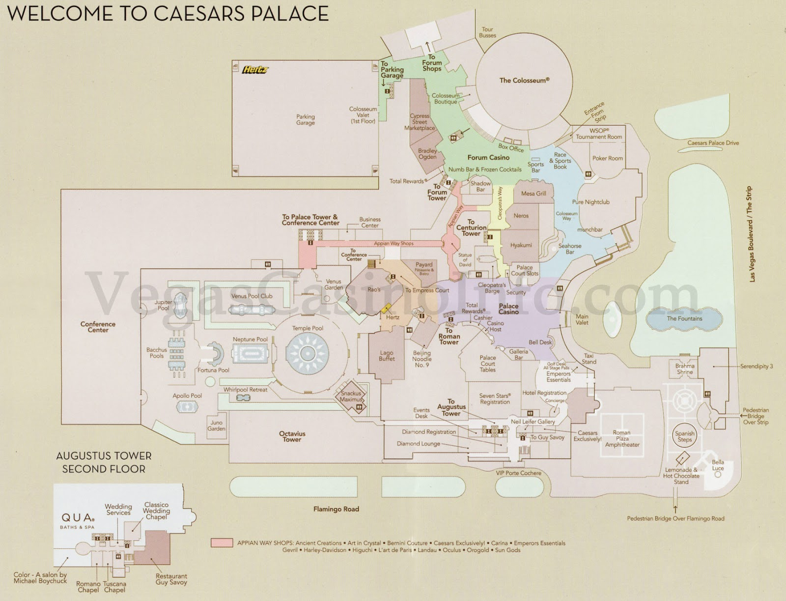 Caesars Palace Floor Plan Love And Disdain In The Western States