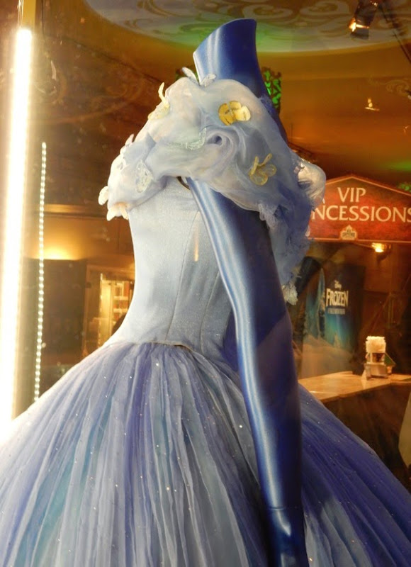 Disney Cinderella ball gown costume detail