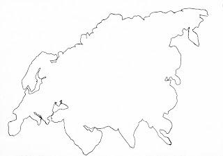 скачать шаблон Евразии