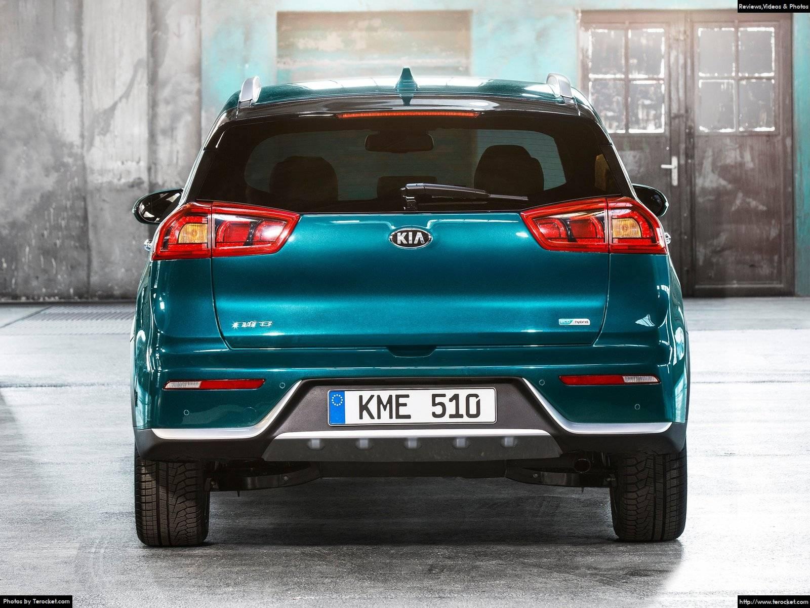 Hình ảnh xe ô tô Kia Niro EU-Version 2017 & nội ngoại thất