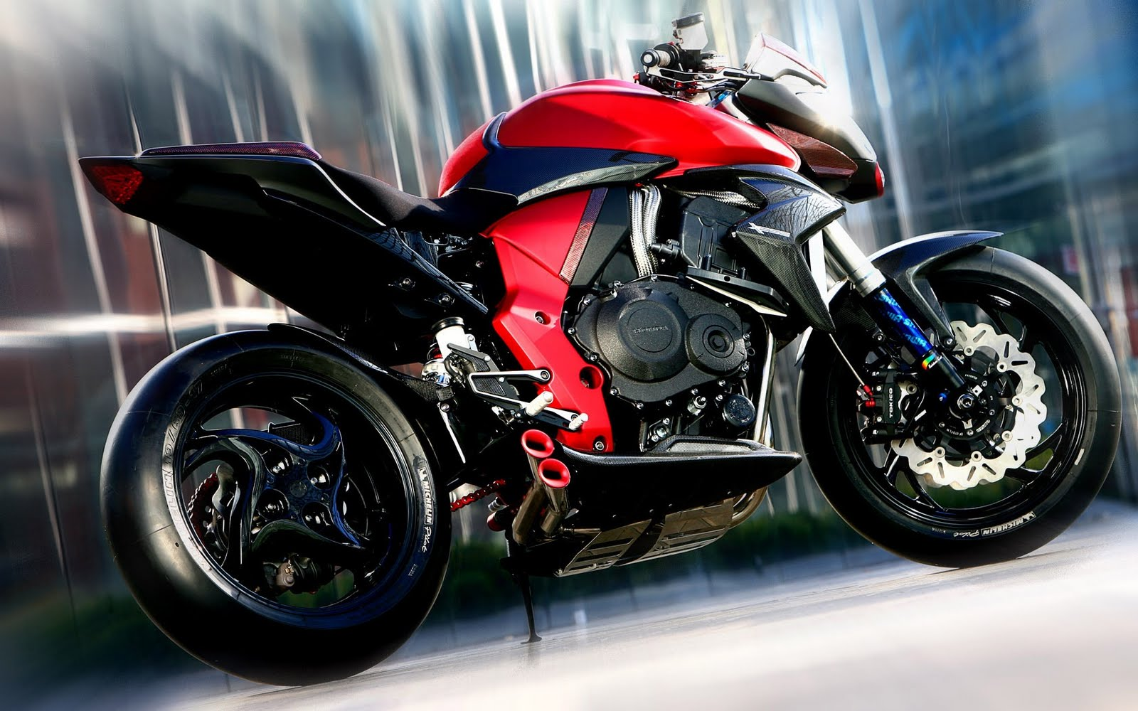Motorcycles Honda Cb1000r Performance