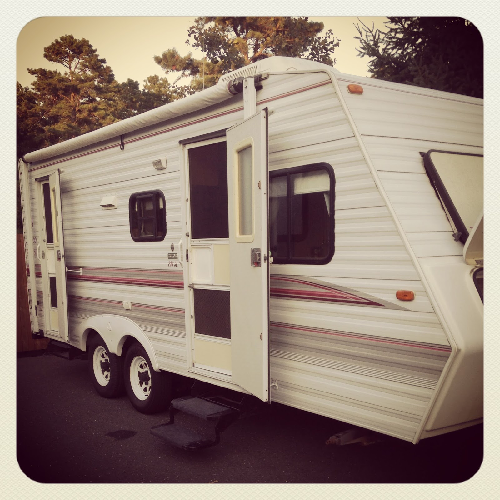 Jayco Travel Trailers: Pine Tree Home: Camper Redo: We Bought A Camper