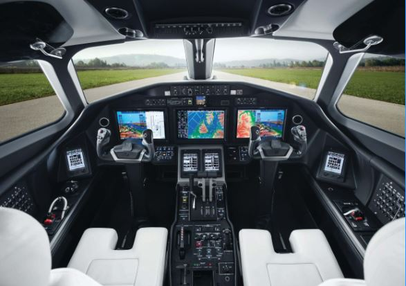 Cessna Citation Longitude cockpit