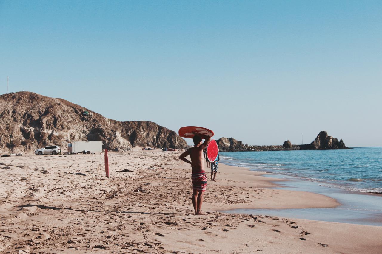 photo of beach camp site in Fujairah