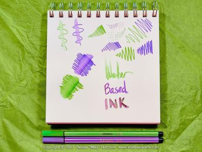 Demo of Stabilo Pens