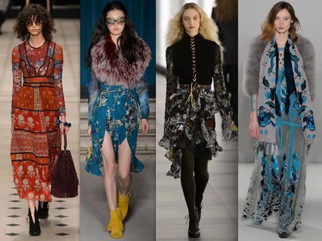 Durante las semanas de moda de Nueva York, Londres, Milán y París dejaron una huella de los años 1970 y 1980 con un toque futurista.