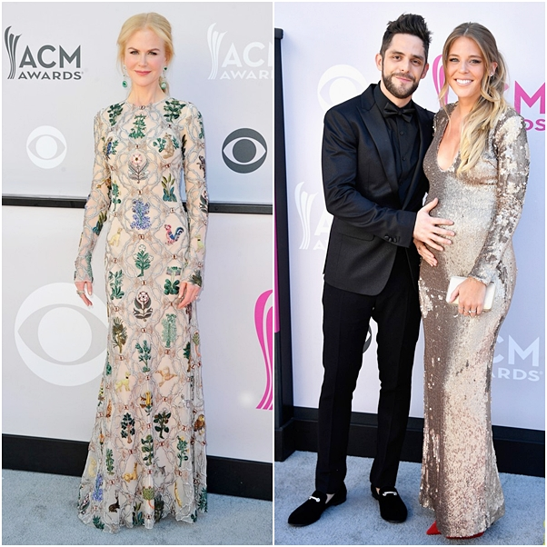 looks country music awards